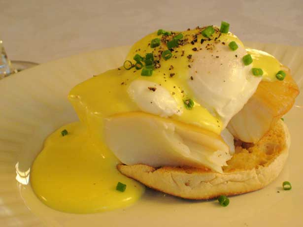 Eggs Benedict with Smoked Haddock